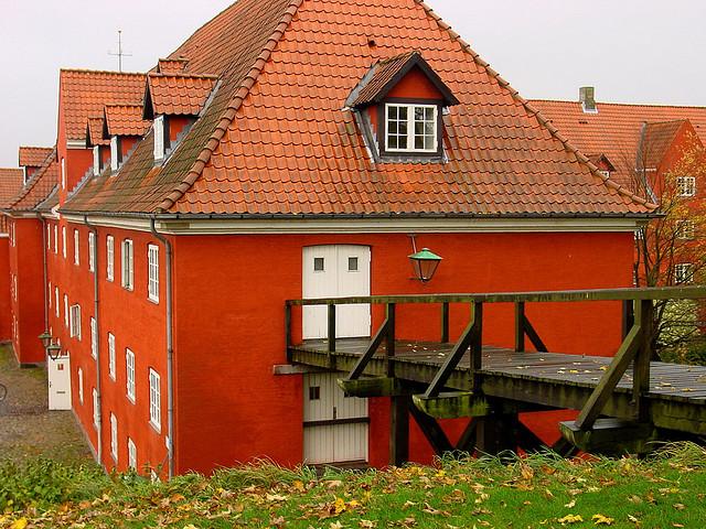 п'ятикутна стара фортеця Kastellet