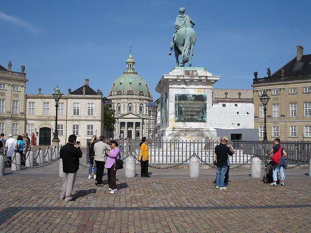площа з кінною статуєю Фредеріка V