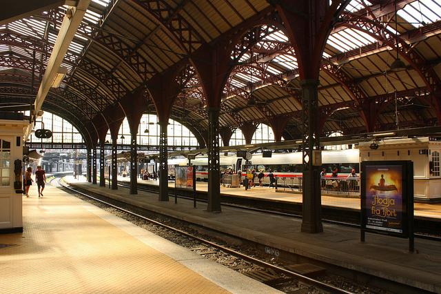 Копенгаген, ЖД вокзал