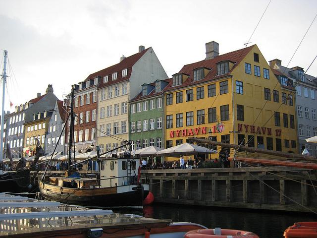 канал Нюхавн (Nyhavn)