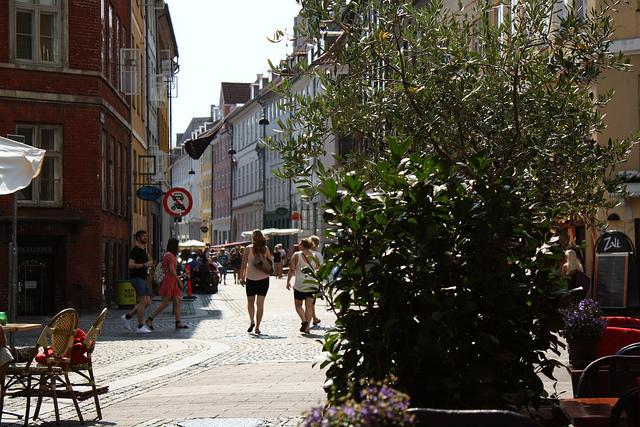 пішохідна вулиця в Європі - Строгет (Strøget),