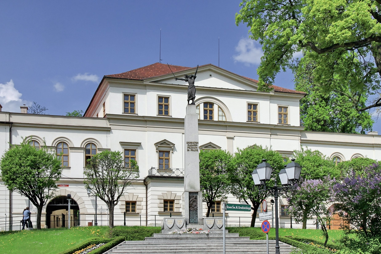 Мисливський палац Габсбурґів у Цешині
